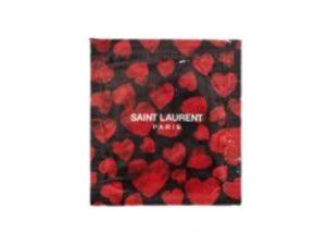 "IVES SAINT LAURENT ""HEART RED"" CONDOM"