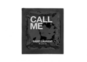 "IVES SAINT LAURENT ""CALL ME"" CONDOM"